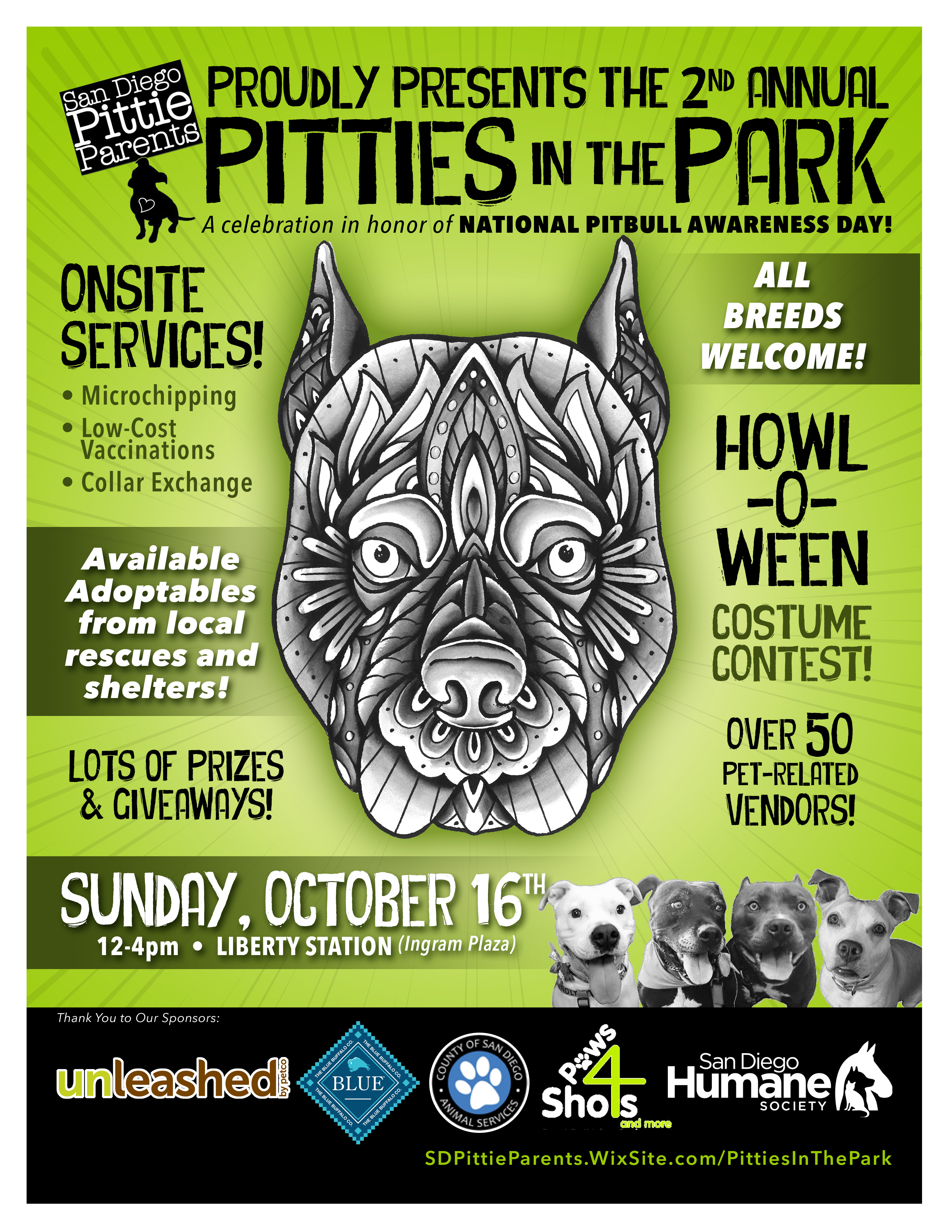 Pitties Park 2016
