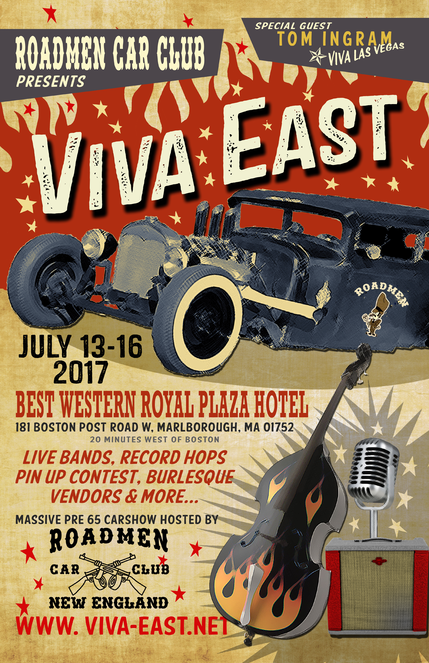 VIVA EAST Poster