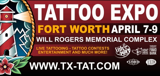 Texas ink art expo tx pinups for pitbulls for Fort worth texas tattoo shops