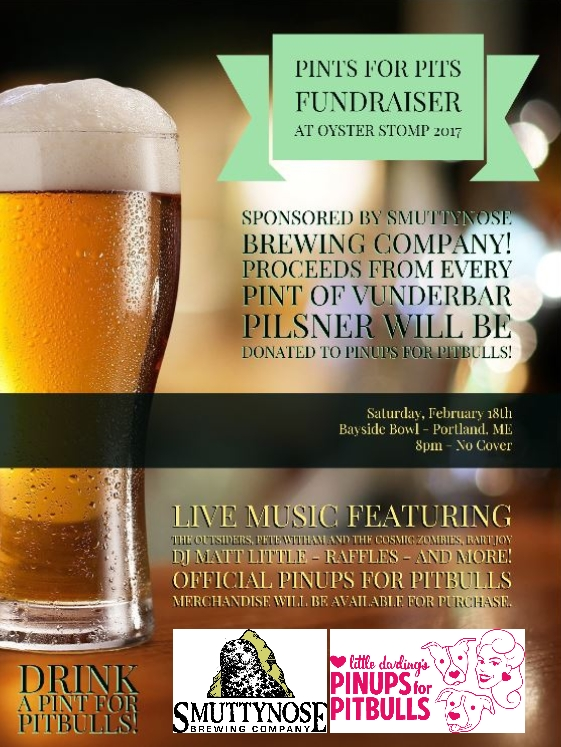 Pinups For Pitbulls - Pints for Pits @ Bayside Bowl | Portland | Maine | United States