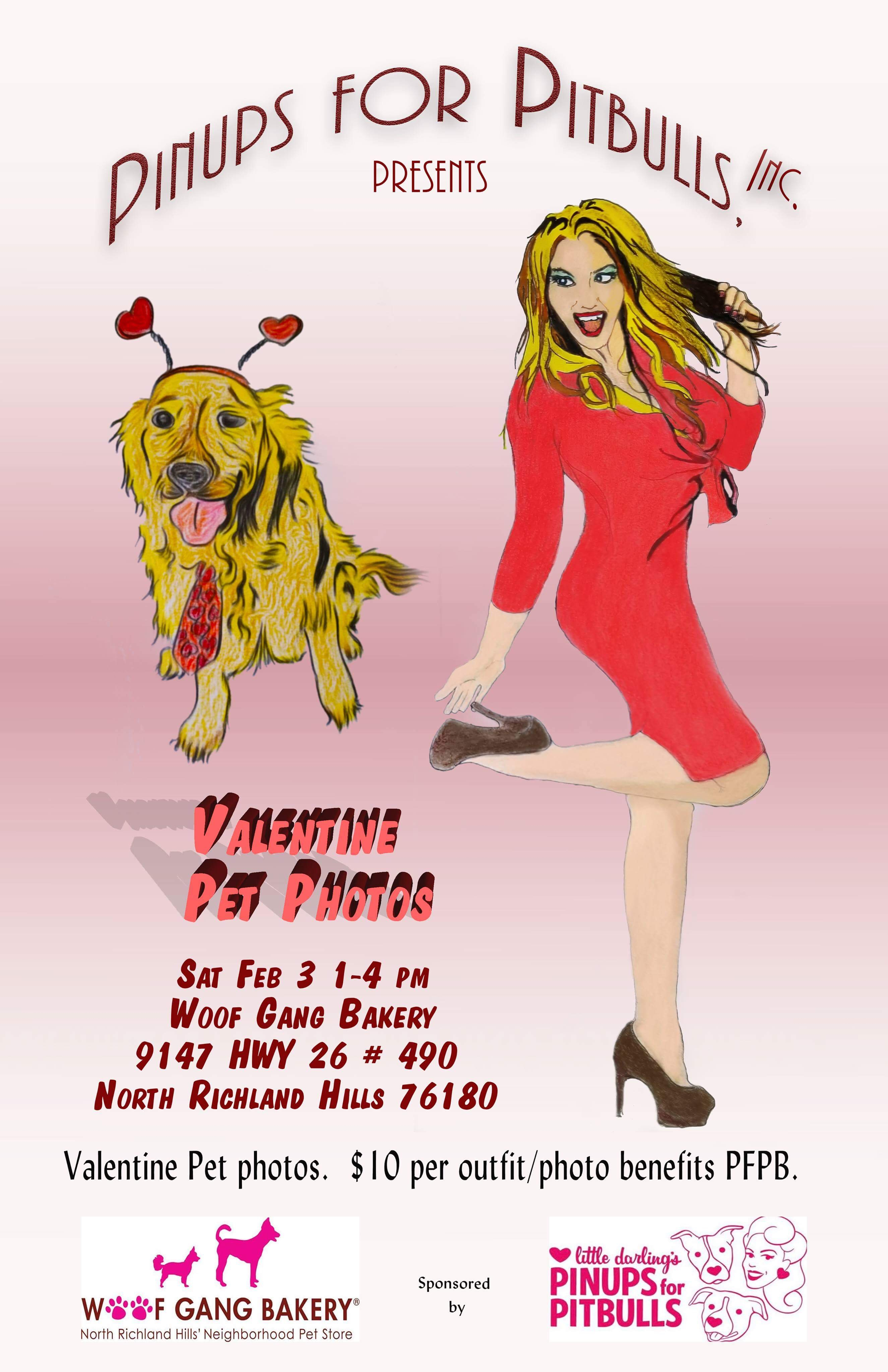 Events   Pinups For Pitbulls   My Furry Valentine